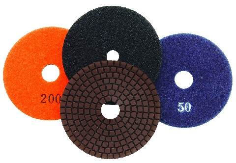 "4"" Wet Flexible Polishing Pad #50"